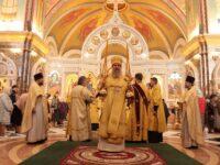 В неделю 11-ю по Пятидесятнице архиепископ Серафим совершил литургию